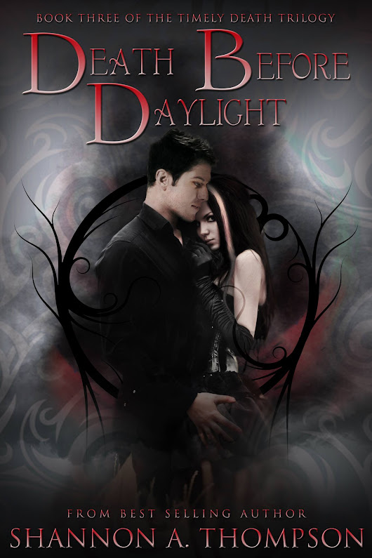 Death Before Daylight Cover Reveal