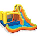 Banzai 28007 Sun 'n Splash Fun Kids Inflatable Bounce House & Water Slide Park
