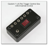 PT1020: Custom 1 x 6 Pre-Trigger Control Box with Override Switch