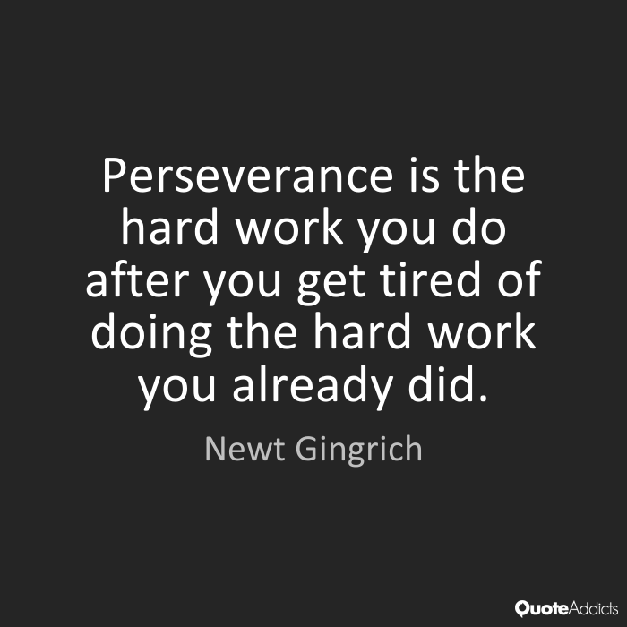 Quotes About Perseverance And Hard Work 51 Quotes