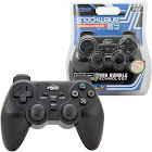 KMD Shock-Wave MR6 2.4 GHz Wireless Controller for PS2 - Black