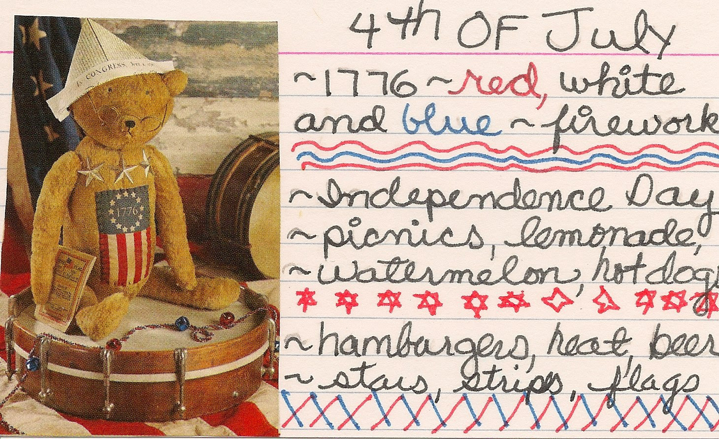 ICAD- 4th of July