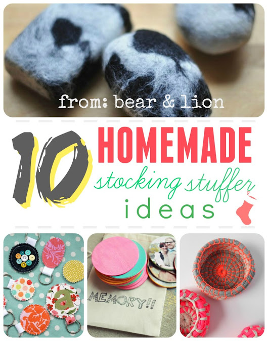 homemade stocking stuffers!