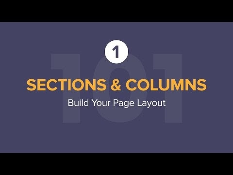 Elementor Sections Layouts Tutorial