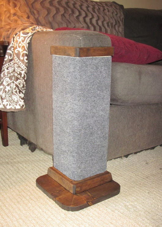 carpet corner cat scratching post Save your furniture