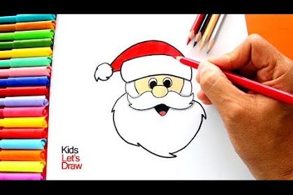 Dibujo De Santa Claus Facil
