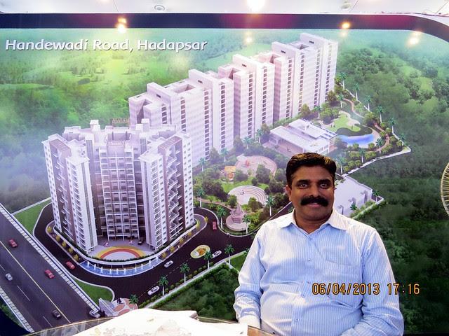 """Florista County"" Handewadi Road Hadapsar Pune - Maharashtra Times Pune Property Show April 2013"