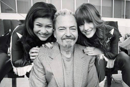 Zendaya, Chris Thompson and Bella Thorne