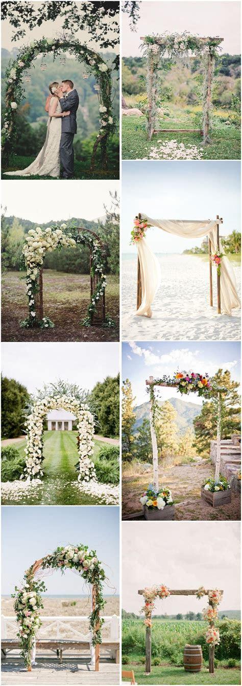 20 DIY Floral Wedding Arch Decoration Ideas   Floral