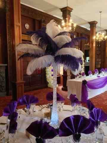 Enchanted Weddings & Events Bristol: Ostrich feather table