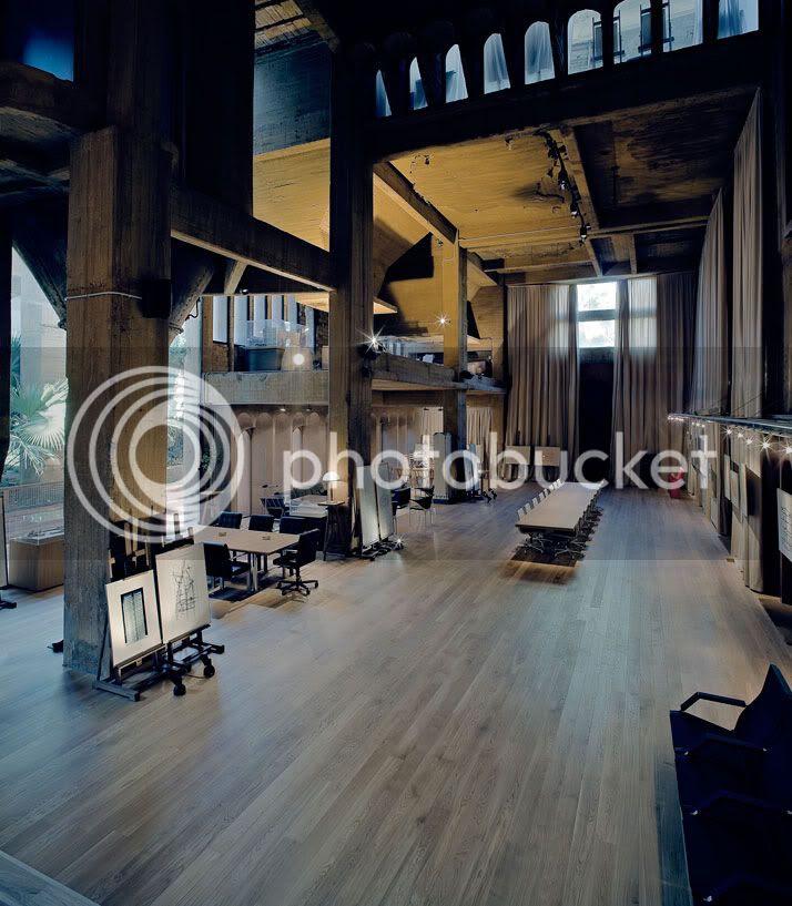 Ricardo Bofill cement factory yatzer 6 Bekas Kilang Simen Kini Studio Arkitek, Pejabat & Kediaman Mewah