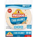 Mission Carb Balance Super Soft Flour Tortillas - 8oz/8ct