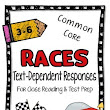 RACES Text Dependent Reading Response Pack {Close Reading & Test Prep}