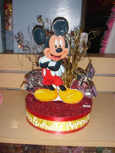 Mickey Mouse Centerpiece or Cake Topper  The Brat Shack