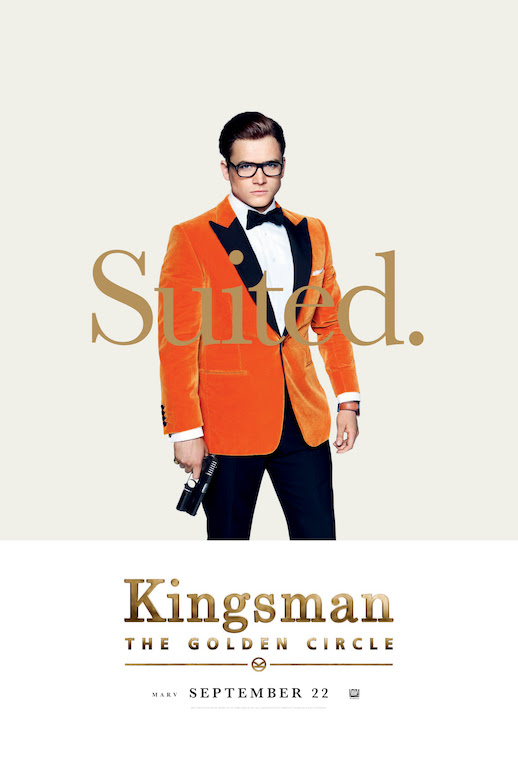 'Kingsman: The Golden Circle' Debuts New Posters - We So Nerdy