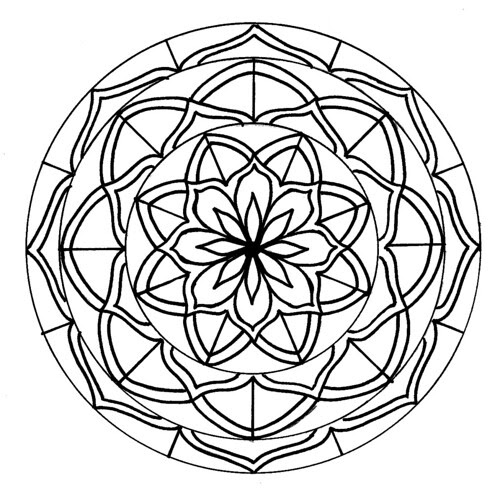 New Celebrity Wallpapers: Mandalas To Color