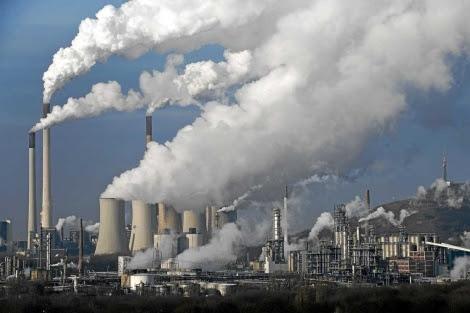 fotod e archivo de una central térmica de carbón en Alemania. | AP