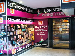 Sebuah Sex Shop di Amsterdam, Netherlands