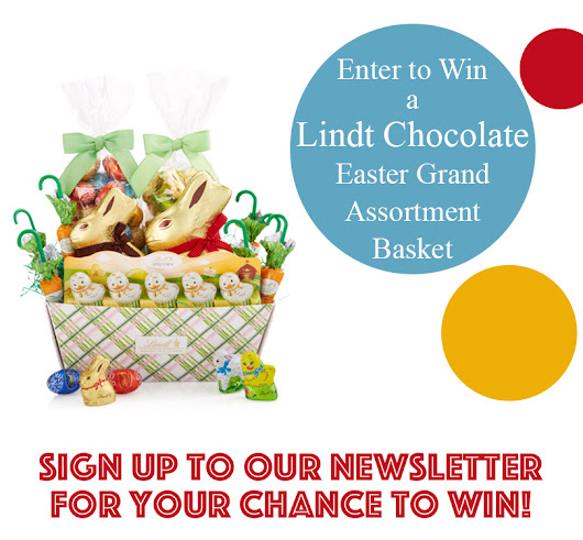 Win a Lindt Chocolate Easter Grand Assortment Basket!