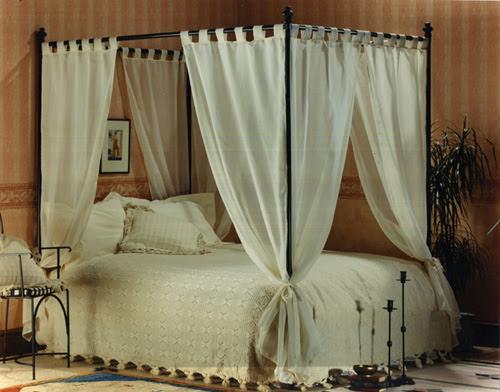 4 Post Bed With Curtains Atcsagacity