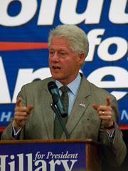 Bill Clinton in Portland