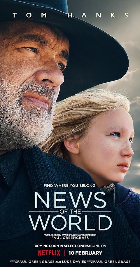News of the World(2020) 480p 720p WebRip Dual Audio (Hindi+English) Full Movie | Netflix Film