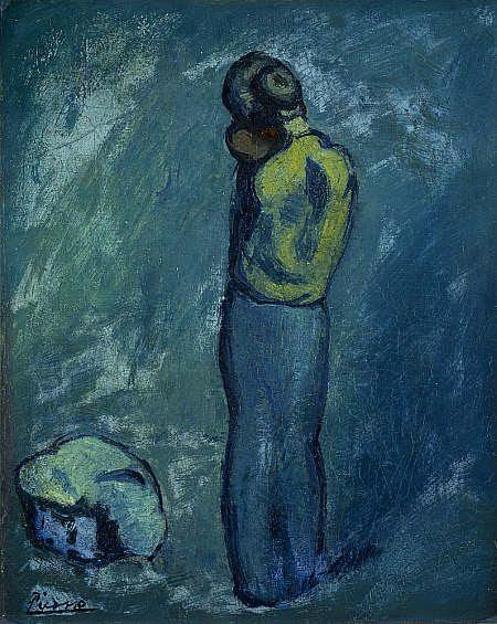 Pablo Picasso / Madre y el Niño / 1902