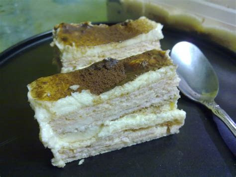 wafer cheese cake na kitchen