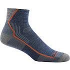 Darn Tough: Men's Hiker 1/4 Sock Cushion - Denim