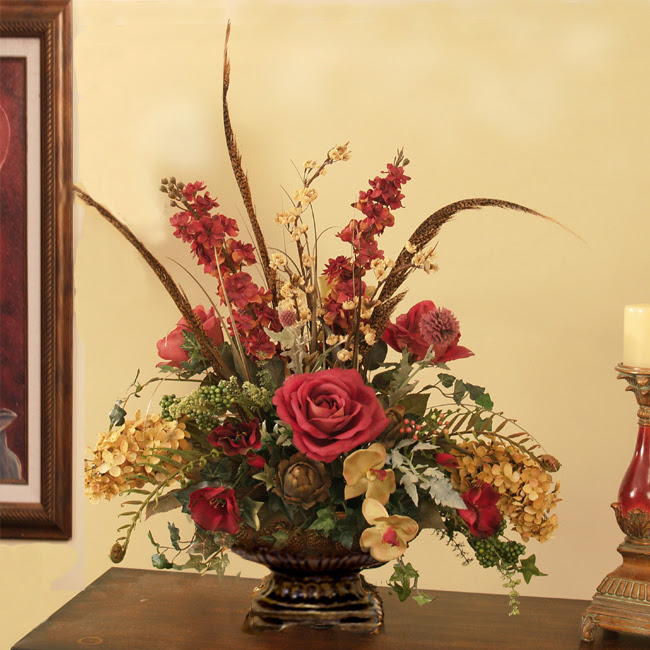 Artificial Flower Decoration Ideas For Home