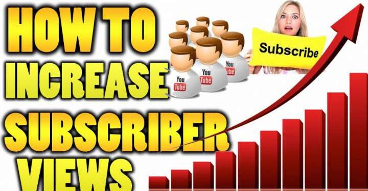 Cara Menambah Views dan Subscriber Youtube Dalam Waktu Singkat