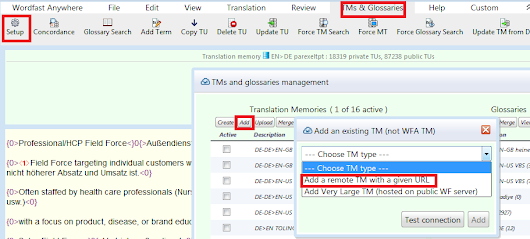 (CAT) – Use Wordfast remote TMs as concordance reference in other CAT tools | Emal Ghamsharick