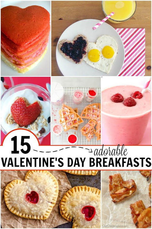 15 Adorable Valentine's Day Breakfasts - The Realistic Mama