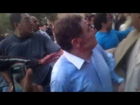فيديوي يوتيوب :  ضرب السيد البدوي في التحرير 27 11 2012