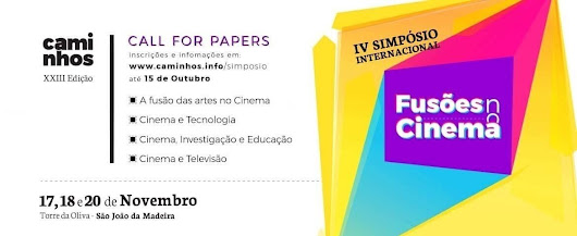 Call for Papers - IV Simpósio Internacional Fusões no Cinema - Caminhos Film Festival