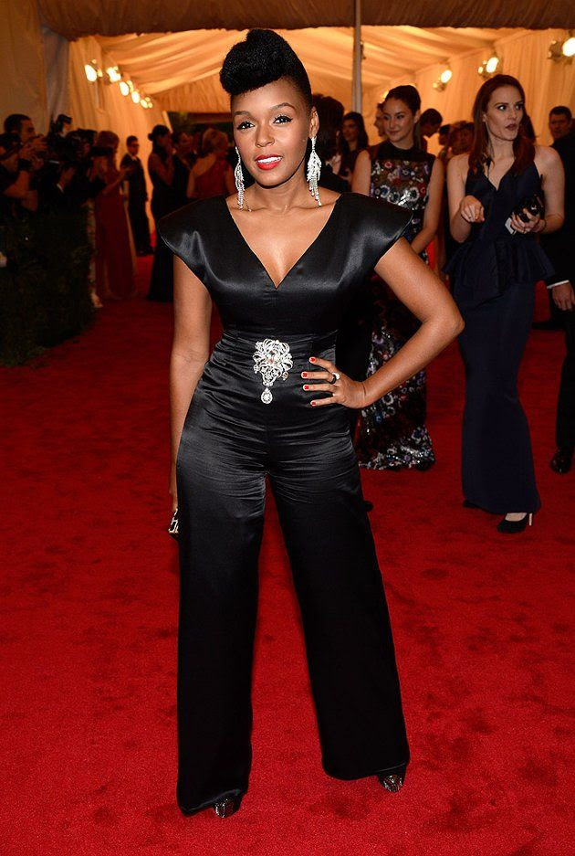 Costume Institute Gala Met Ball - May 7, 2012, Janelle Monae
