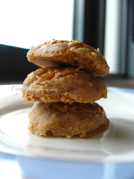 Chinese New Year : Peanut Cookies         ~          The Trishaw