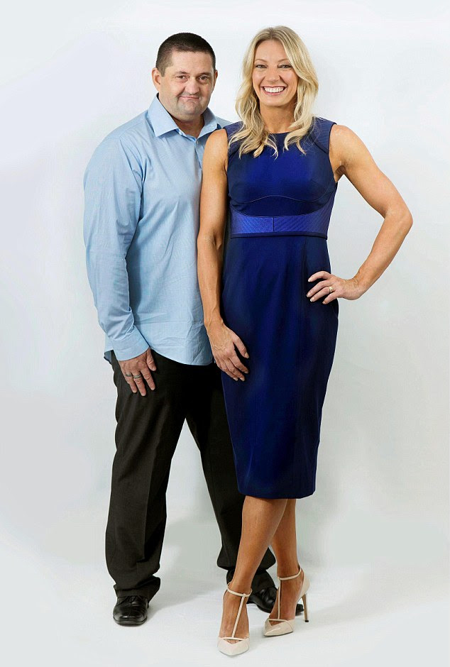 Strong beliefs: Julia saved herself for Mr Right - her husband, Craig Hubbard