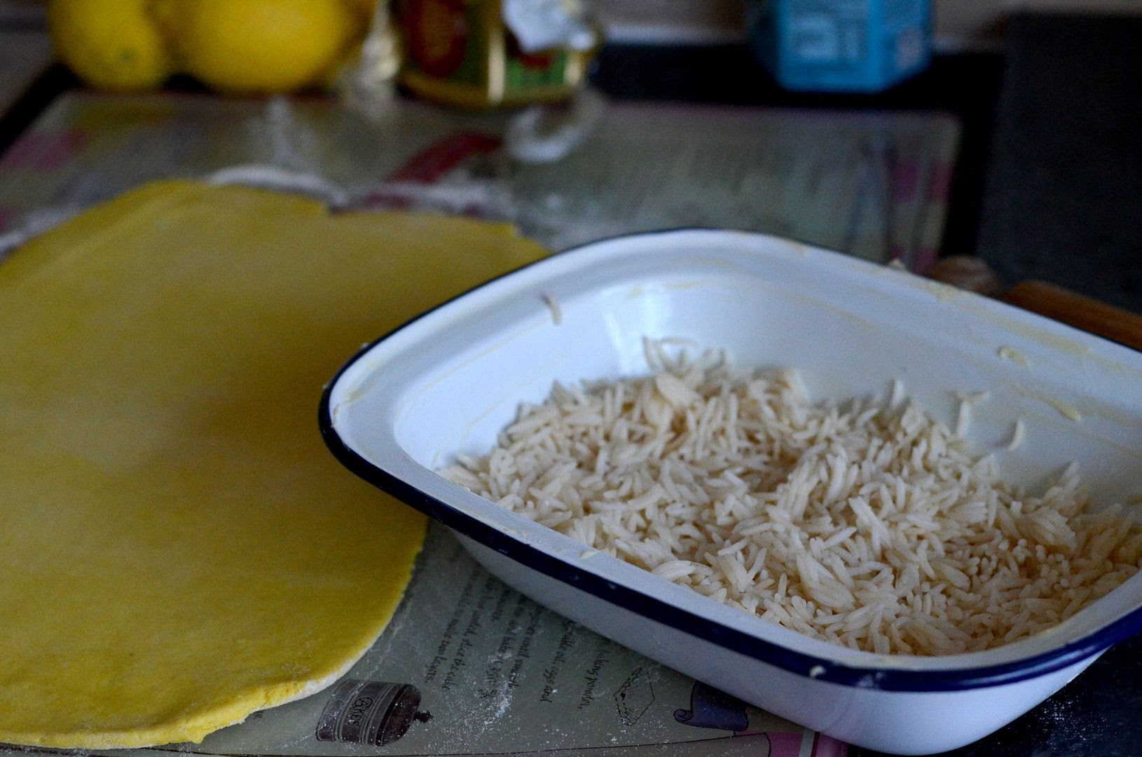 Chicken Korma Pie