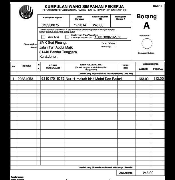 Moshims Kwsp Borang A Pdf