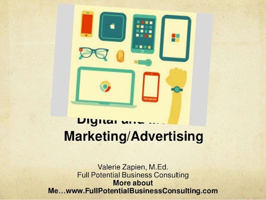 Digital and Mobile Marketing