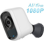 Wireless Security Camera, Outdoor Camera Wireless 1080P with Customizable Motion Detect,Sound Alarm,