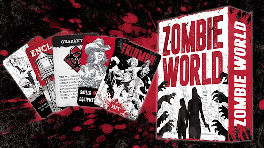 Zombie World: A Card-Based Tabletop RPG of Zombie Horror by Brendan G. Conway — Kickstarter