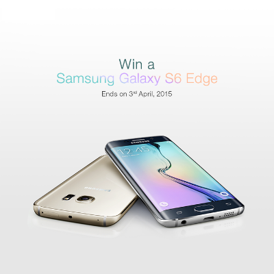 Want to ‪ ‎Win An Samsung 6 Edge Smartphone