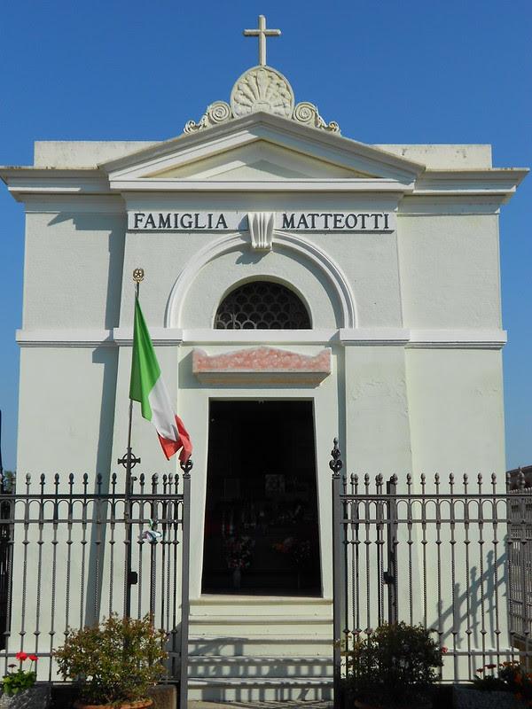 tomba famiglia Matteotti (Giacomo Matteotti) a Fratta Polesine