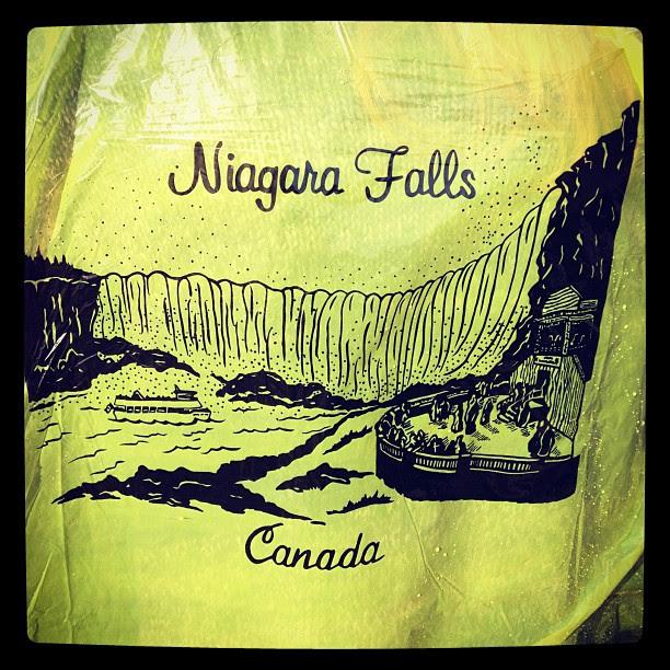 Niagara Falls raincoat