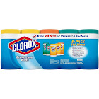Clorox Disinfecting Wipes, Variety Pack - 5 pack, 78 sheets each