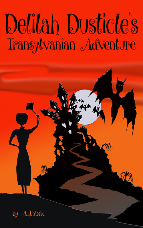 Delilah Dusticle's Transylvanian Adventure Free this Weekend!