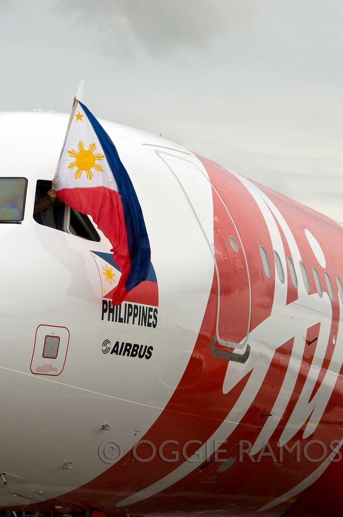 AirAsia A320 and Philippine Flag