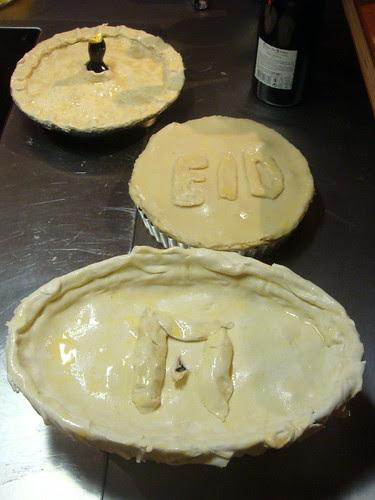 3 pies